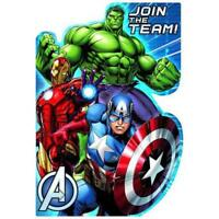 Marvel Avengers Party Birthday Invitations For 8 Super Heroes Party Decorations