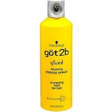 Schwarzkopf Got 2B pegados Blasting Freeze spray Screaming Sujección
