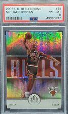 2004 UD Reflections #12 Michael Jordan (PSA 8) (Freshly Graded) Bulls UNC