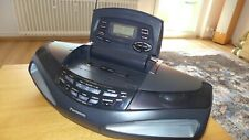 Panasonic RX-ED77.Ghettoblaster.CD Player Radiokassetten Recorder