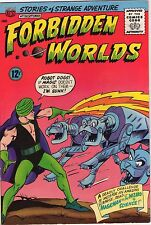 Forbidden Worlds #130 - Magicman Fights Robot Dogs - 1965 (8.5) WH