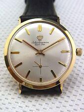 Eine schöne Armbanduhr Jules Jürgensen 585/-Gold