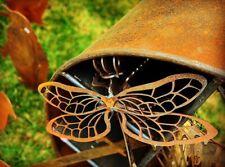 Laser Cut Corten Steel Art Garden Sculpture Dragonfly