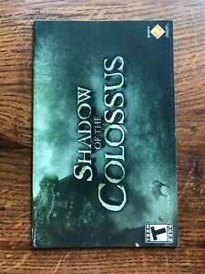 Shadow of Colossus PS2 Playstation 2 Instruction Manual Only