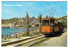 Puerto De Soller PPC, Mallorca, unposted, Tram no 4&7 of 1913 in service, 1980's