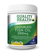 FISH OIL 2000MG 200 Odourless capsules omega-3 100% AUSTRALIAN MADE