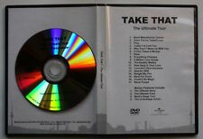 Take that the ultimate tour rare Advance DVD acétates unique Cover