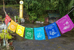7 piece gift set of Healing Prayer Flags