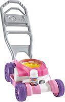 Fisher Price Bubble Mower Play Lawn Mower Children Outdoor Garden Toy Pink /Blue