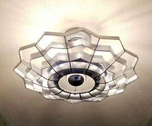 Mid Century Modern Snowflake Starburst Sunburst Pendant Light Chandelier Fixture