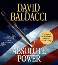 ABSOLUTE POWER unabridged audio book on CD by DAVID BALDACCI - Brand New! 19 Hrs
