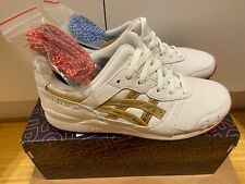 ✅RONNIE FIEG X ASICS GEL-LYTE III TOKYO SUPER GOLD [ Size 7] Fast Shipping Now