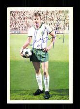 John Danielsen Werder Bremen Bergmann Sammelbild 1968-69 Original Signiert