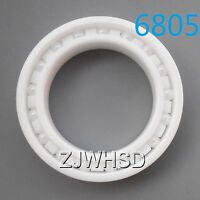 6805 Full Ceramic Zirconia Oxide Bearing ZrO2 25 x 37 x 7mm Self-lubricatin​g