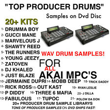 TOP 21 SAMPLE kit for AKAI MPC X REN 4000 2500 1000 2000 TOUCH MPD MPK