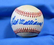 TED WILLIAMS PSA DNA Coa Autograph MacPhail American League Signed Baseball