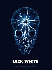 Jack White 2014 Pittsburgh PA Print Poster Justin Erickson Phantom City Creative