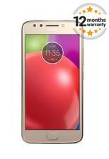 "Motorola MOTO E4 XT1761 Gold 16GB Unlocked 4G Smartphone 5.0"""