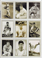 Lot of 9 Ruth Gehrig Musial Feller Koufax Plutograph signature cards serial # 🔥