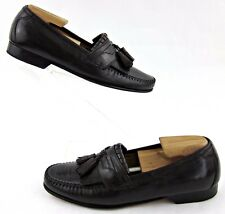 Johnston & Murphy 'Breland' Kiltie Tassel Loafers Dark Burgundy 8.5W WIDE