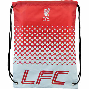 Liverpool Fade Gymbag Sport Training Football Drawstring Bag Bagpack - Unisex