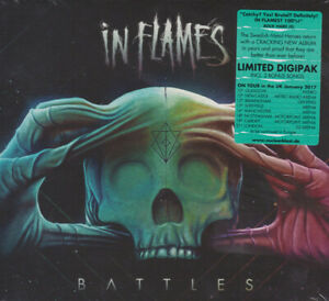 IN FLAMES Battles Limited Edition 14-trk CD digipak 2016 NEW/SEALED 2 bonus trks