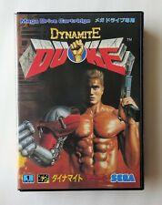 DYNAMITE DUKE [ G-4039 ] Sega Mega Drive Japan
