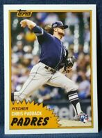 2019 Topps TBT #286 Chris Paddack RC Rookie Throwback Thursday Padres