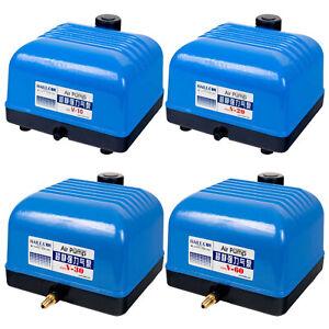 Hailea V Series Air Pumps Quiet Aquarium Tank Outlet Oxygen Aerator Hydroponics
