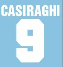 CASIRAGHI #9 LAZIO AWAY 1993-1994 CALCIO Nameset per maglia