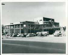1958 Prudential Federal Construction Salt Lake City Original News Service Photo