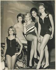 "London, ""Miss World"" at Lyceum Ballroom Vintage silver print Tirage argentique"