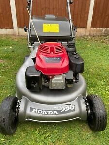 "Honda HRD536 21""rear Roller Petrol Mower Commercial"