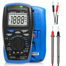 Digital Multimeter Auto Range 6000 Counts Truerms Resistanc Capacity Temperature