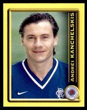 Panini Scottish Premier League 2000 Andrei Kanchelskis Rangers No. 370
