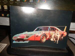 1970 Bobby Allison No. 22 Dodge Daytona Vintage NASCAR Postcard