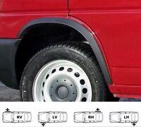 Radlauf Zierleisten VW TRANSPORTER T4 kurze Front -96 SCHWARZ MATT Vorne 2 Stück