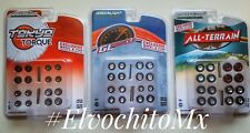 Greenlight 1/64 Wheel & Tire Pack Hobby Exclusive IN STOCK set of 3 packs
