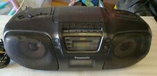 Panasonic RX-DS15 Cassette Radio CD Tape BOOMBOX GHETTO BLASTER
