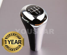 AU STOCK BRIGHT CHROME MATT BLACK Manual Gear Shift Knob 5 Speed MT BMW