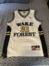 Tim Duncan Wake Forest Throwback Ncaa Basketball Jersey Mens Small