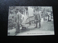 FRANCE - carte (reproduction) (bourbon-l archambault chaise a porteurs) (cy68)