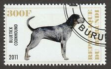 Bluetick Coonhound * Int'l Dog Postage Stamp Art * Great Gift Idea *