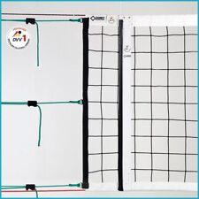 Volleyball Volleyballnetz Turniernetz DVV-1 Netz, 9,5 x 1,0 m, 4 mm ø, PP