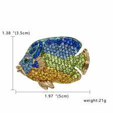 Rhinestone Crystal Animal Frog Turtle Elephant Cat Dog Brooch Pin Women Lot Gift
