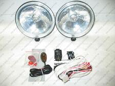 "6"" Off-Road Fog Driving Light Lamp Kit Bull Brush Bar Chevy Silverado"