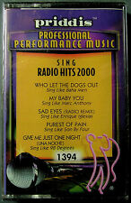 Sing Radio Hits 2000 by Karaoke (Cassette, Dec-2000, Priddis) NEW