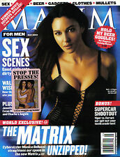 MAGAZINE ~ MAXIM May 2003 - MONICA BELLUCI
