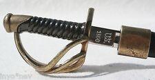 CIVIL WAR LETTER OPENER Saber Sword Letter Opener with Scabbard 2 pieces 50010