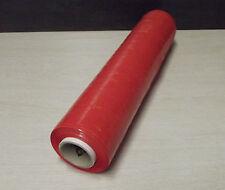 1 Bobine de film étirable 20 µ manuel ROUGE 450 x 300 pour emballage et envoi